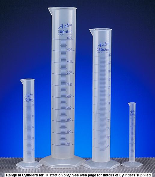 More info on Plastic Measuring Cylinders