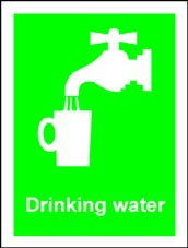 More info on 'Drinking Water' - First Aid Sign